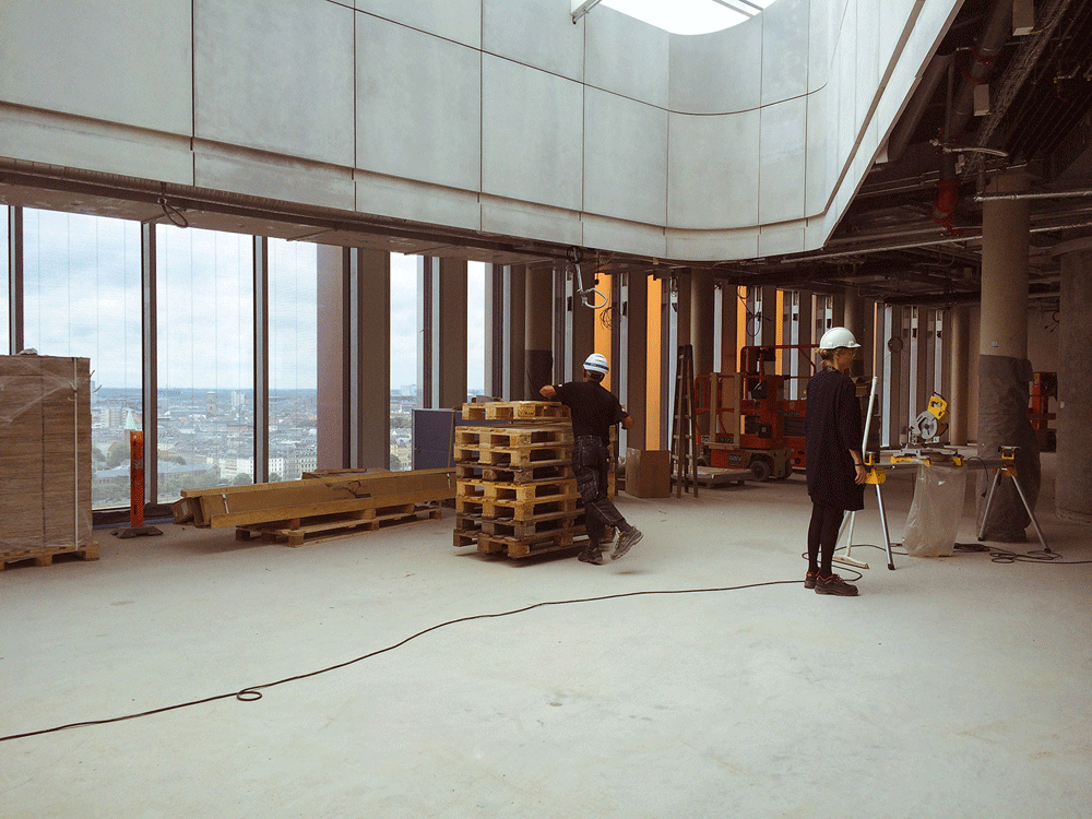 New photos of inside the maersk building for 15th floor