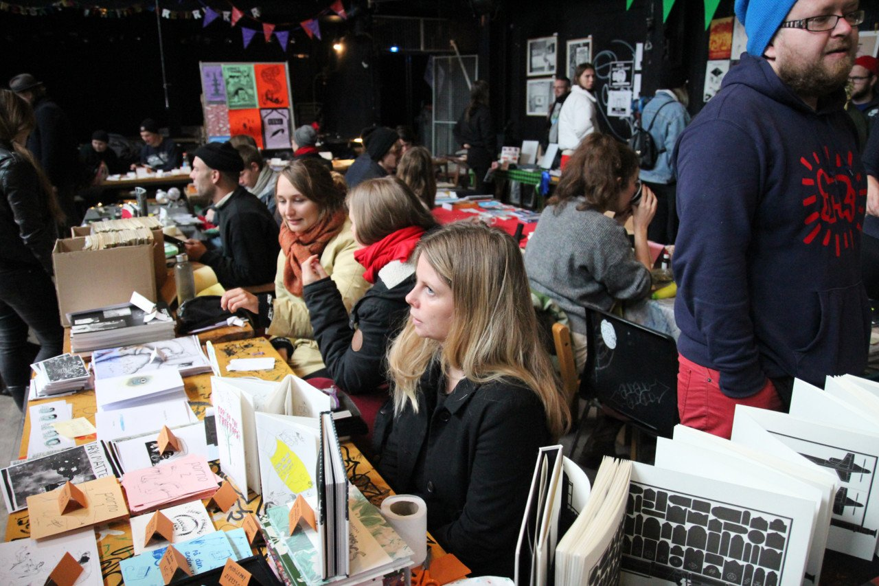 Zine Fest is an annual gathering of underground artists from all over the world