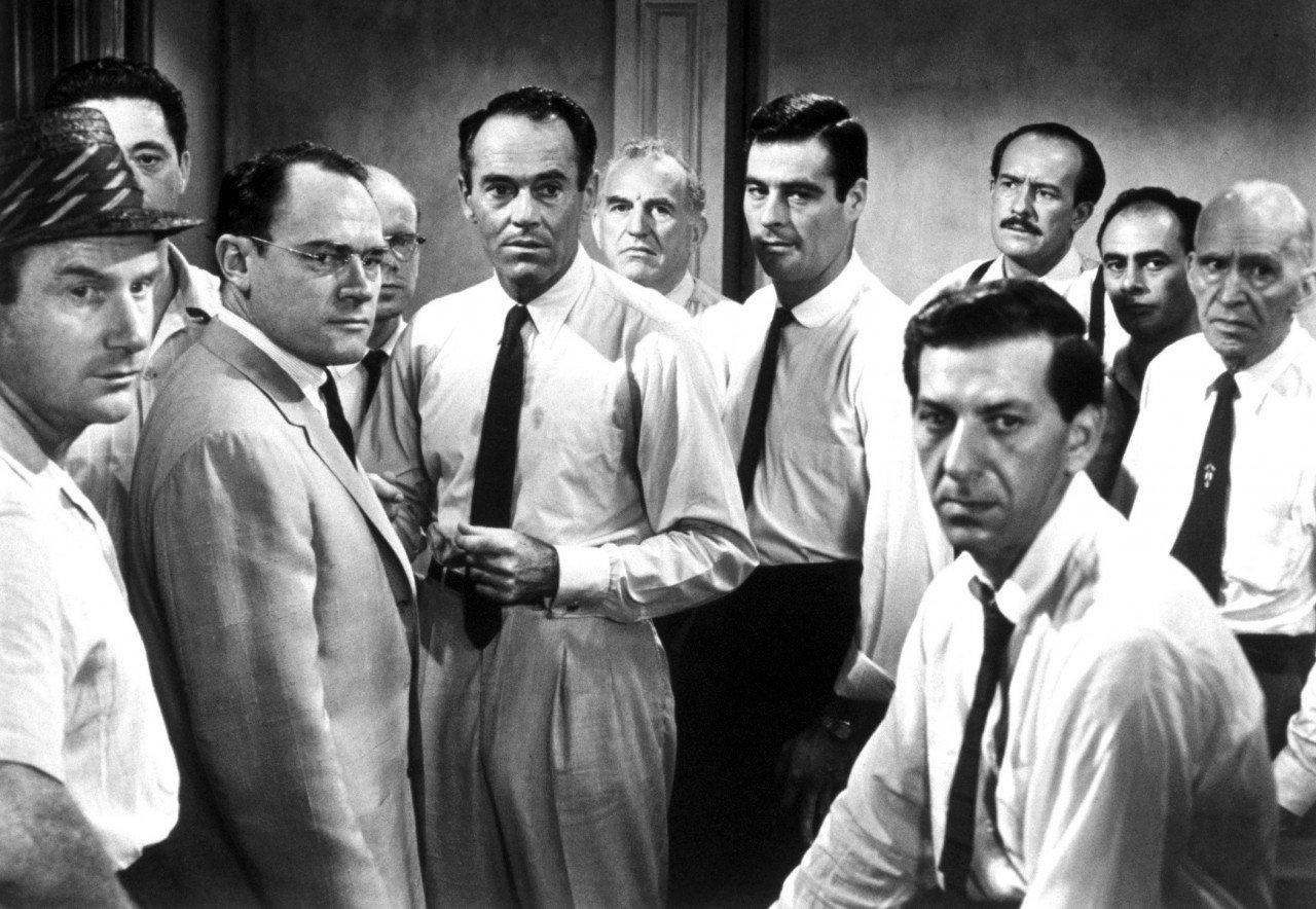 leadership in twelve angry men by sidney lumet