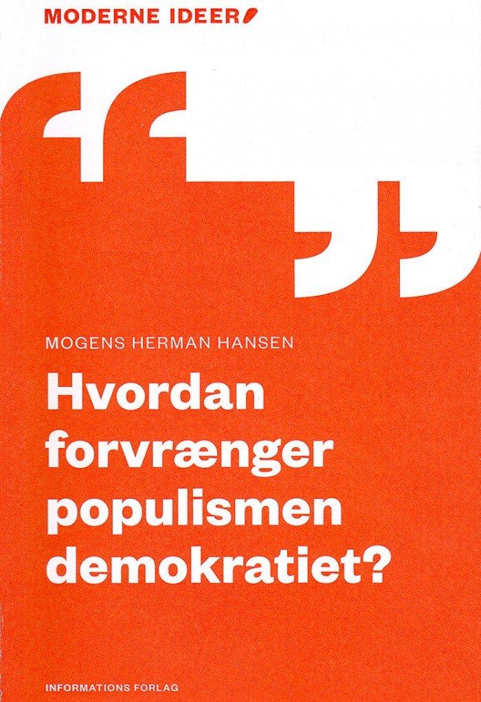 Bogforside Hvordan forvrænger populismen demokratiet