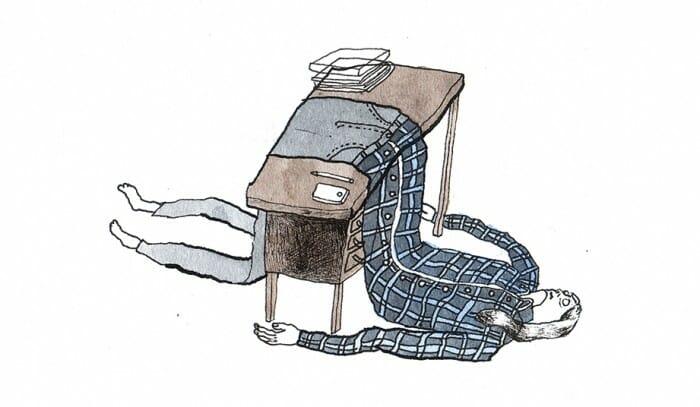 Ni ud af ti KU-studerende har været stresset det seneste semester. Hver femte har søgt professionel hjæp.