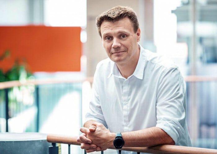 Klavs Martin Sørensen fotograferet på Københavns Universitets april 2019